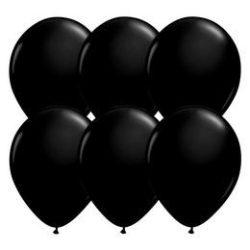 11 inch-es Onyx Black fekete lufi 6db