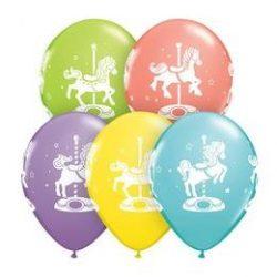 11 inch-es Carousel Horses Sorbet Assortment Lufi