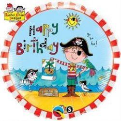 Kalózok - Pirates Lufi Születésnapra - 46 cm