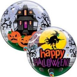 22 inch-es Witch Haunting Bubble Lufi Halloweenre