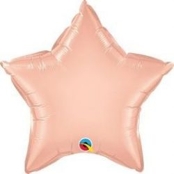 20 inch Rózsaarany csillag fólia lufi