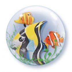 24 inch-es Trópusi Halak - Seaweed Tropical Fish Double Bubble Lufi