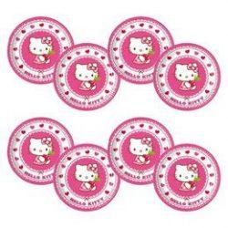 Hello Kitty parti tányér