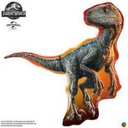 Jurassic World - Raptor Héliumos Fólia Lufi