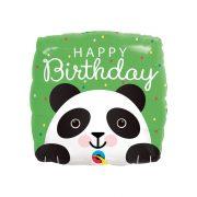Mosolygó Cuki Panda Szülinapi Fólia Lufi, 46 cm