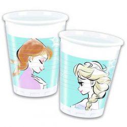 Jégvarázs Frozen Sparkle parti pohár 8db
