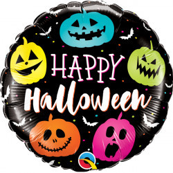 18 inch-es Halloween Jack Faces Halloween Fólia Lufi