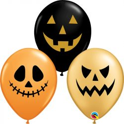 11 inch-es Halloween Arcok - Jack Faces Special Assortment Lufi Halloweenre