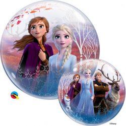 22 inch-es Disney Frozen II - Jégvarázs 2 Bubble Lufi