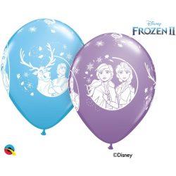 11 inch-es Jégvarázs 2 - Disney Frozen II Lufi (6 db/csomag)