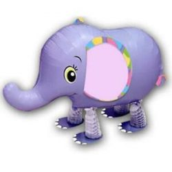 Sétáló Elefánt Lufi, 50 cm