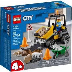 LEGO City Great Vehicles 60284 Útépítő autó