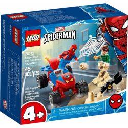 LEGO Super Heroes 76172 Pókember és Sandman leszámolása