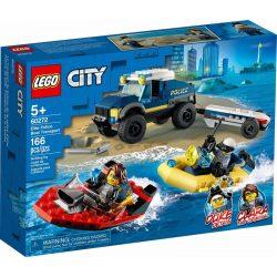 LEGO City 60272 Elit Rendõrség Hajószállító