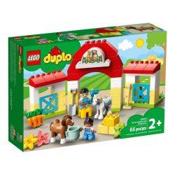 LEGO® DUPLO® 10951 Lóistálló és pónigondozás