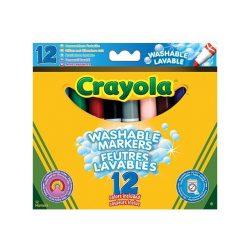 Crayola Lemosható vastag filctoll 12db
