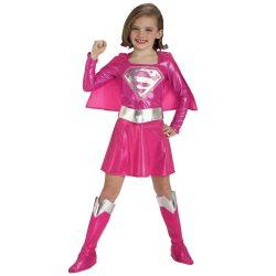 Supergirl Jelmez Kislányoknak, M-es - Rózsaszín