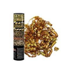 Arany metál szalag-konfetti ágyú